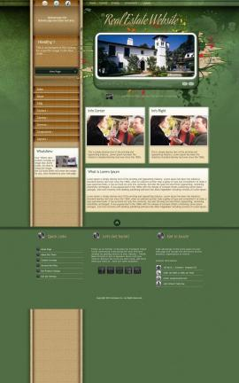 Fascinate Real-estate Website Template