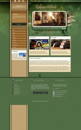 Fascinate Religion Website Template