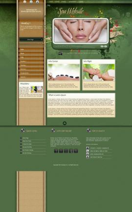 Fascinate Spa Website Template