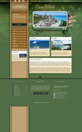 Fascinate Travel Website Template