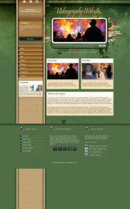 Fascinate Videography Website Template