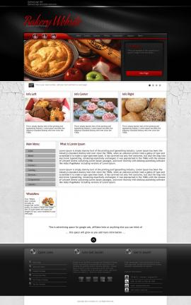 Experience Bakery Website Template