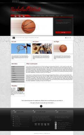 Experience Basketball Website Template