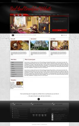 Experience Bed-and-breakfast Website Template