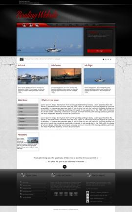 Experience Boating Website Template