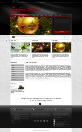 Experience Christmas Website Template