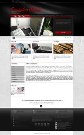 Experience Computers Website Template