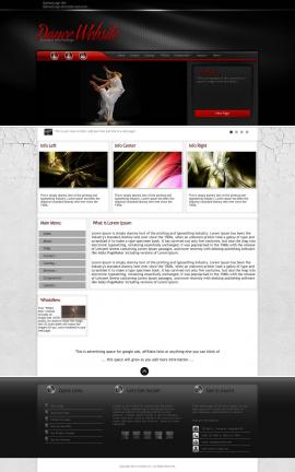Experience Dance Website Template