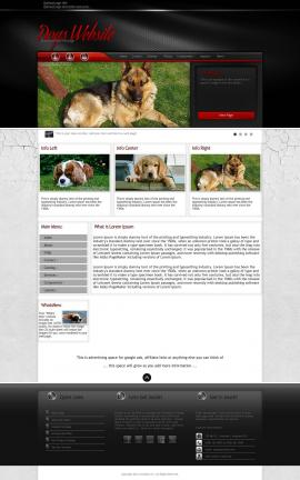 Experience Dogs Website Template