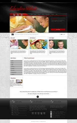 Experience Education Website Template
