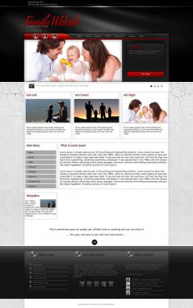 Experience Family Website Template