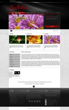 Experience Floral Website Template