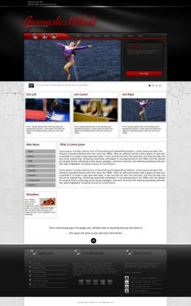 Experience Gymnastics Website Template