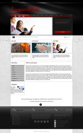 Experience Insurance Website Template