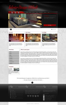 Experience Interior-design Website Template