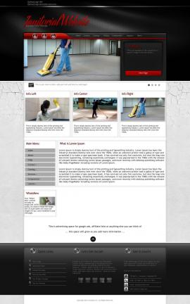 Experience Janitorial Website Template