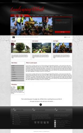 Experience Landscaping Website Template