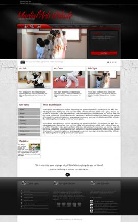 Experience Martial-arts Website Template