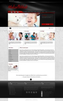 Experience Medical Website Template