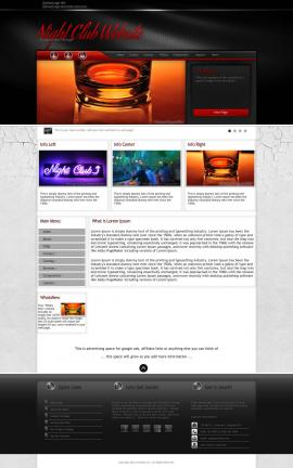 Experience Night-club Website Template