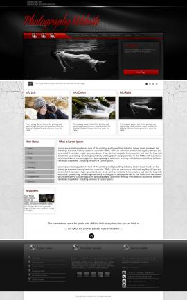 Experience Photography Website Template
