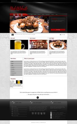 Experience Pub Website Template