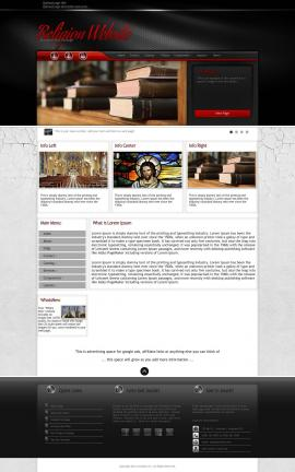 Experience Religion Website Template