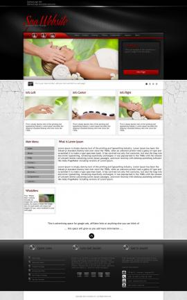 Experience Spa Website Template