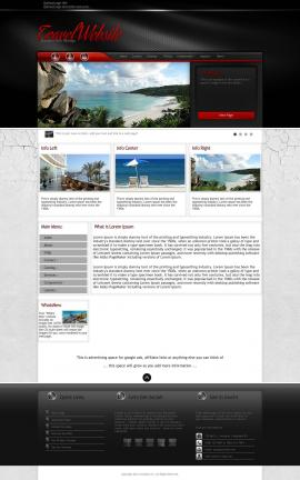Experience Travel Website Template