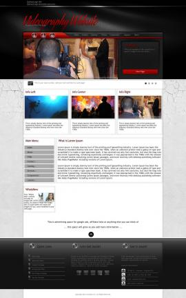 Experience Videography Website Template