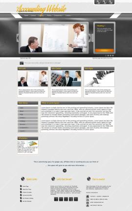 Paramount Accounting Website Template