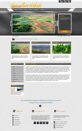 Paramount Agriculture Website Template