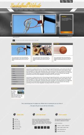 Paramount Basketball Website Template