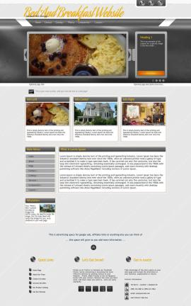 Paramount Bed-and-breakfast Website Template