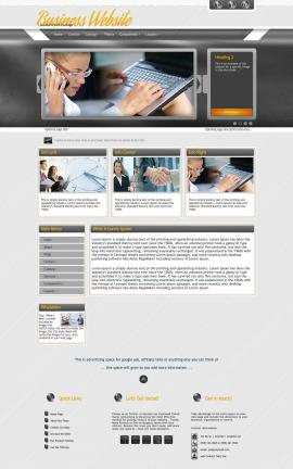 Paramount Business Dreamweaver Template