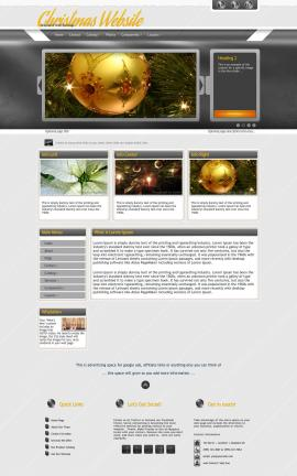 Paramount Christmas Website Template