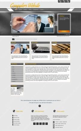 Paramount Computers Website Template