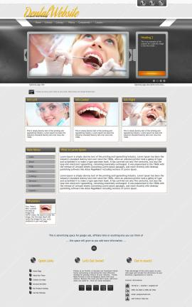 Paramount Dental Website Template