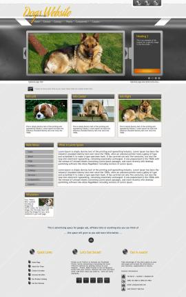 Paramount Dogs Website Template
