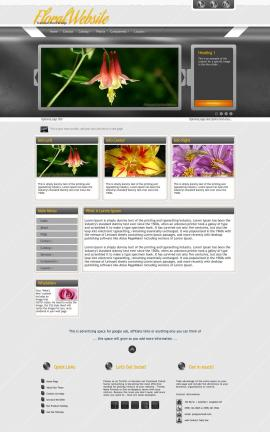 Paramount Floral Website Template