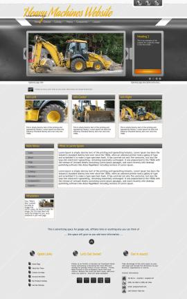 Paramount Heavy-machines Website Template