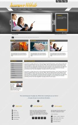 Paramount Insurance Website Template