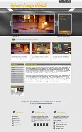 Paramount Interior-design Website Template