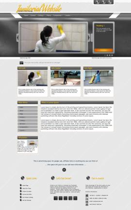 Paramount Janitorial Website Template