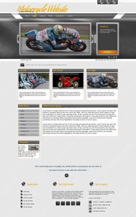 Paramount Motorcycle Website Template