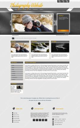 Paramount Photography Website Template
