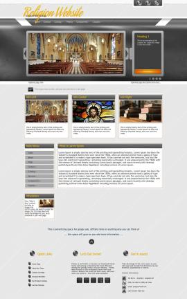 Paramount Religion Web Template