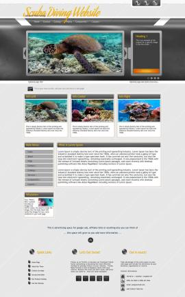 Paramount Scuba-diving Website Template