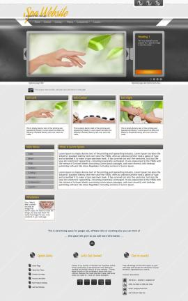 Paramount Spa Website Template