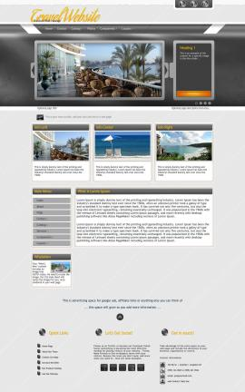 Paramount Travel Website Template